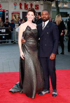 LONDON, ENGLAND - OCTOBER 05: Jessica Oyelowo and David Oyelowo attend the 'A United Kingdom' Opening Night Gala screening during the 60th BFI London Film Festival at Odeon Leicester Square on October 5, 2016 in London, England. (Photo by John Phillips/Getty Images) *** Local Caption *** Jessica Oyelowo; David Oyelowo