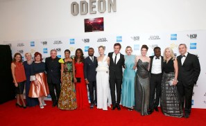 LONDON, ENGLAND - OCTOBER 05: (L to R) Guest, guest, Clare Stewart, Rick McCallum, Terry Pheto, Amma Asante, David Oyelowo, Rosamund Pike, Jack Davenport, Laura Carmichael, Jessica Oyelowo, Arnold Oceng, Amanda Nevill and guest attend the 'A United Kingdom' Opening Night Gala screening during the 60th BFI London Film Festival at Odeon Leicester Square on October 5, 2016 in London, England. (Photo by John Phillips/Getty Images) *** Local Caption *** Clare Stewart; Rick McCallum; Terry Pheto; Amma Asante; David Oyelowo; Rosamund Pike; Jack Davenport; Laura Carmichael; Jessica Oyelowo; Arnold Oceng; Amanda Nevill