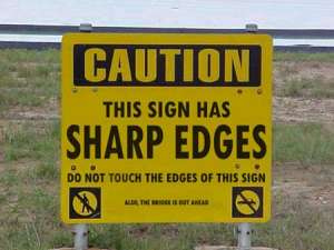10 Pictures Of Funny Signs