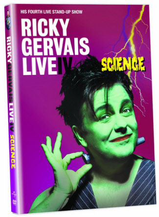 Ricky Gervais Live Clips and Science DVD