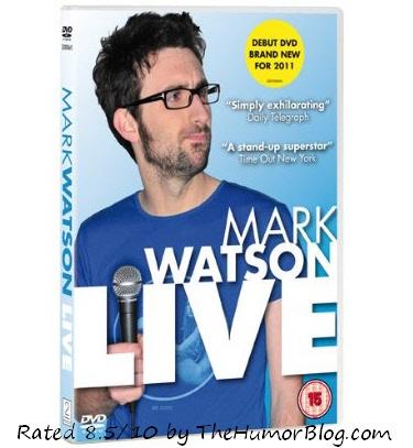 Mark Watson Live DVD Review – Spoiler Alert