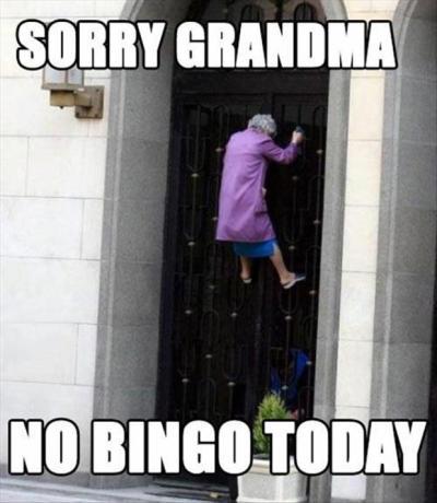 Funny Bingo Caption Photos