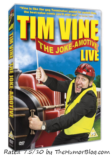 Tim Vine Joke-amotive Tour DVD Review