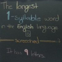 The Longest Short Word