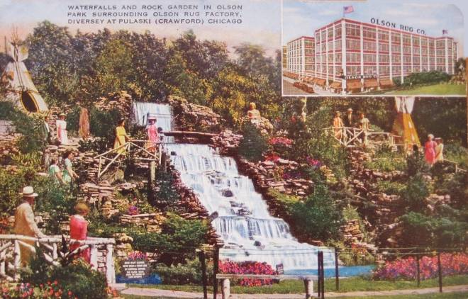 Olson Rug Company Olson Waterfall And Rock Garden