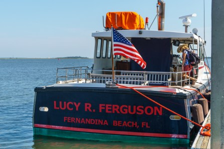 Our Boat to Cumberland Island