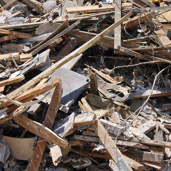Remove Construction and Demolition Waste