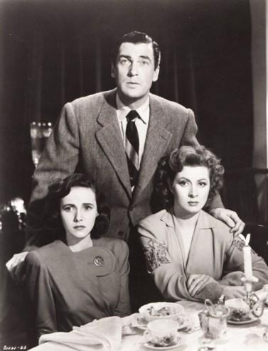 Greer Garson, Teresa Wright and Walter Pigeon