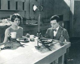 Kathryn Mcguire & Buster Keaton