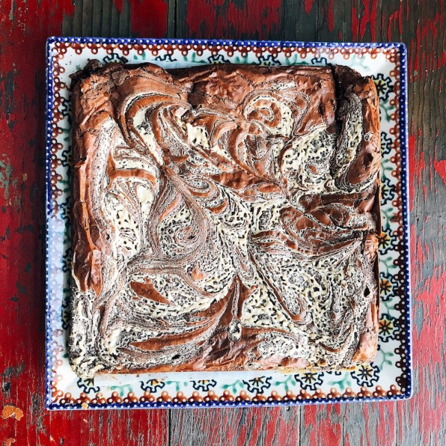 tahini-brownie