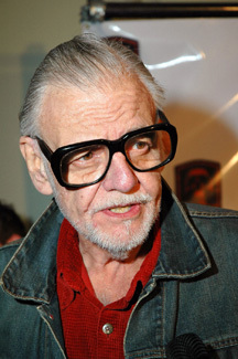 George Romero has the coolest old man glasses