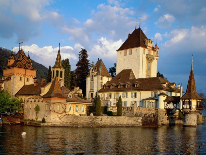 Oberhofen Castle, Lake Thun