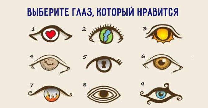 Картинки по запросу выберите глаз тест
