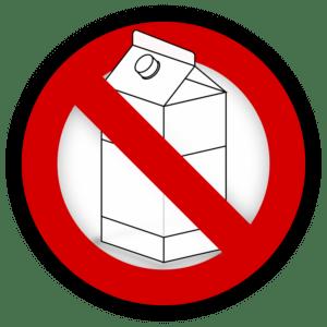 mlieko zákaz