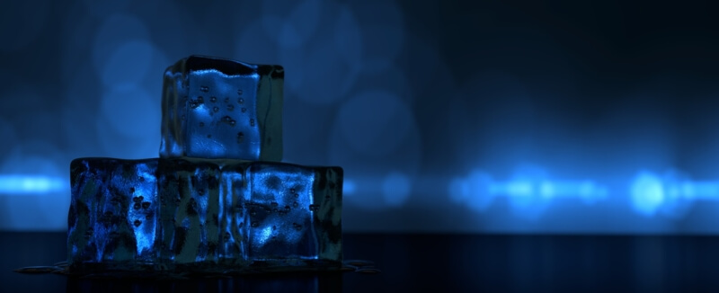 kocky ľadu