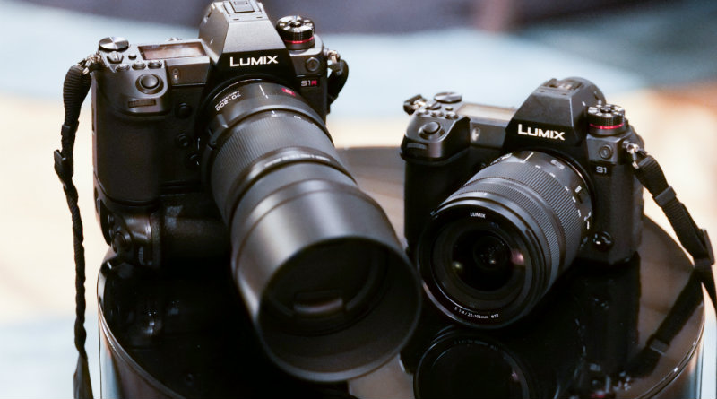 Panasonic Lumix S1 и S1R | Фото: chudo.tech