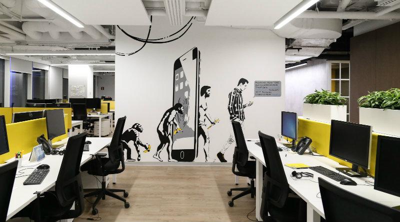 Офис «Тинькофф»   Фото: rb.ru