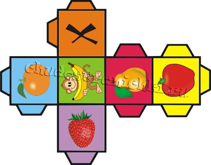 Детская настольная игра «Собери урожай быстрее обезьянки»