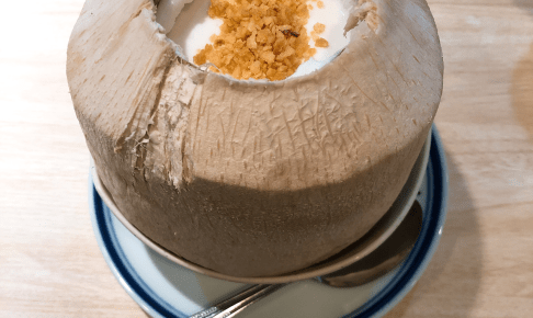 ココナッツプリン