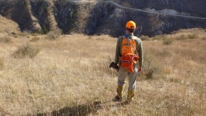Chukar hunting vest