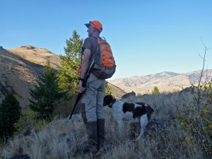 Upland game hunting pants for hot weather