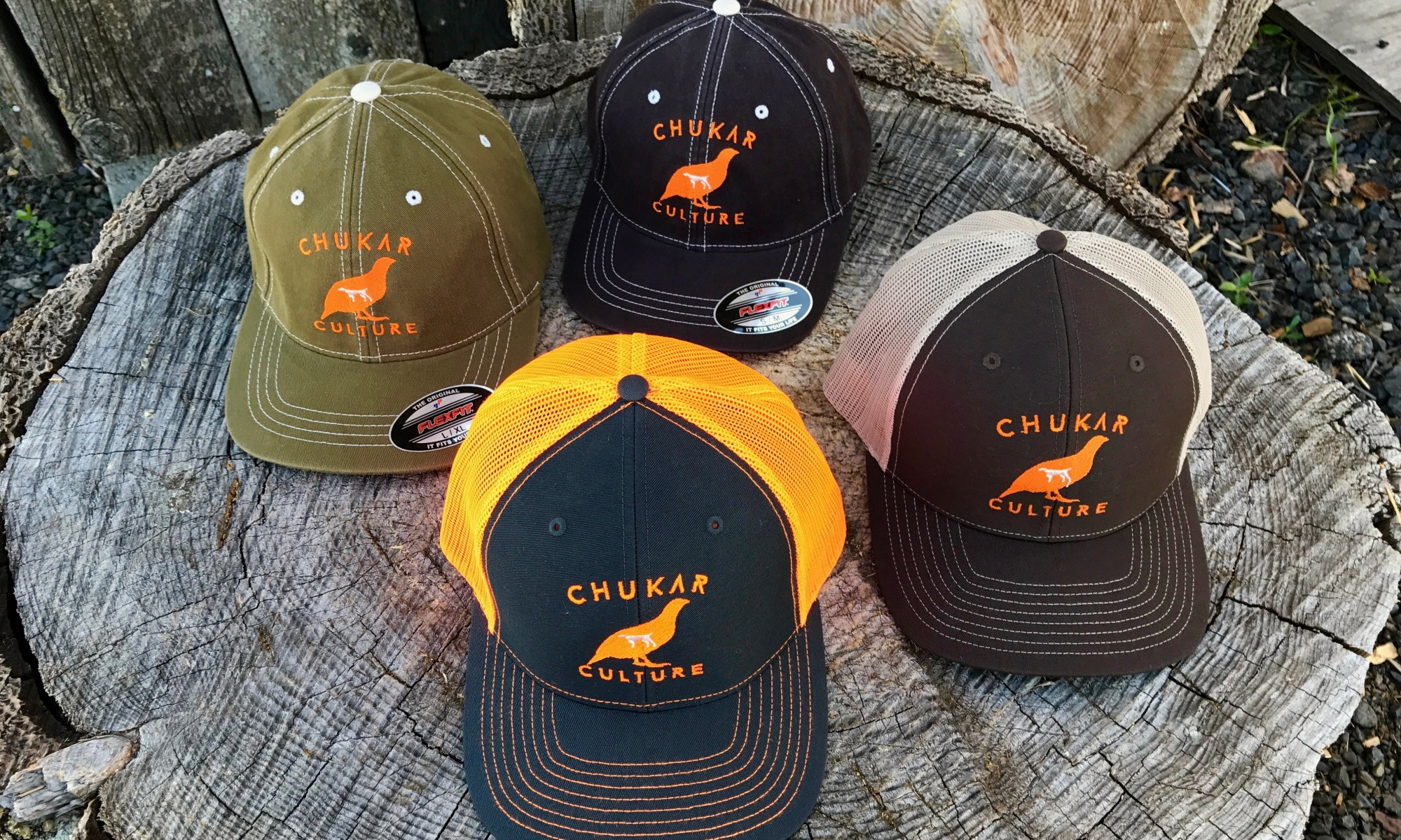 Chukar hunting hats