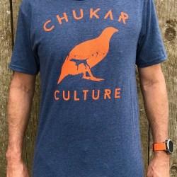Heathered Navy Chukar Culture T-shirt