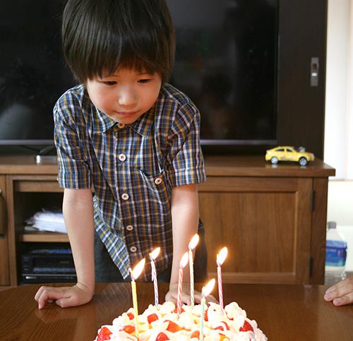 ちゅき誕生日ケーキ