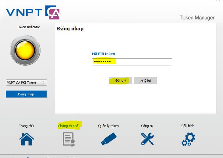 Cập nhật Serial number Chữ ký số trên trang Nộp thuế điện tử năm 2017