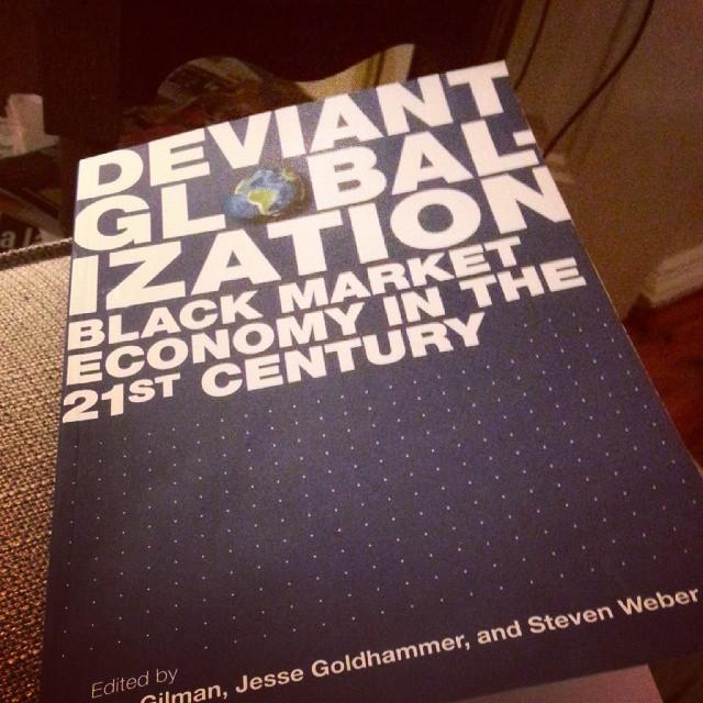 Deviant globalization / #nowreading / #shadows http://ift.tt/1vL6Art