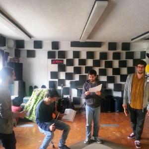 Pé de Leão recording Macbeth et al / #thecompanysound / #Lisbon / http://ift.tt/1LJdpGV