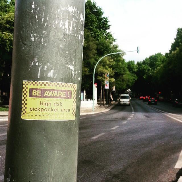 """I'm tired of seeing it happen"" #concernedcitizens // #Lisboa // http://ift.tt/1QO6auA"