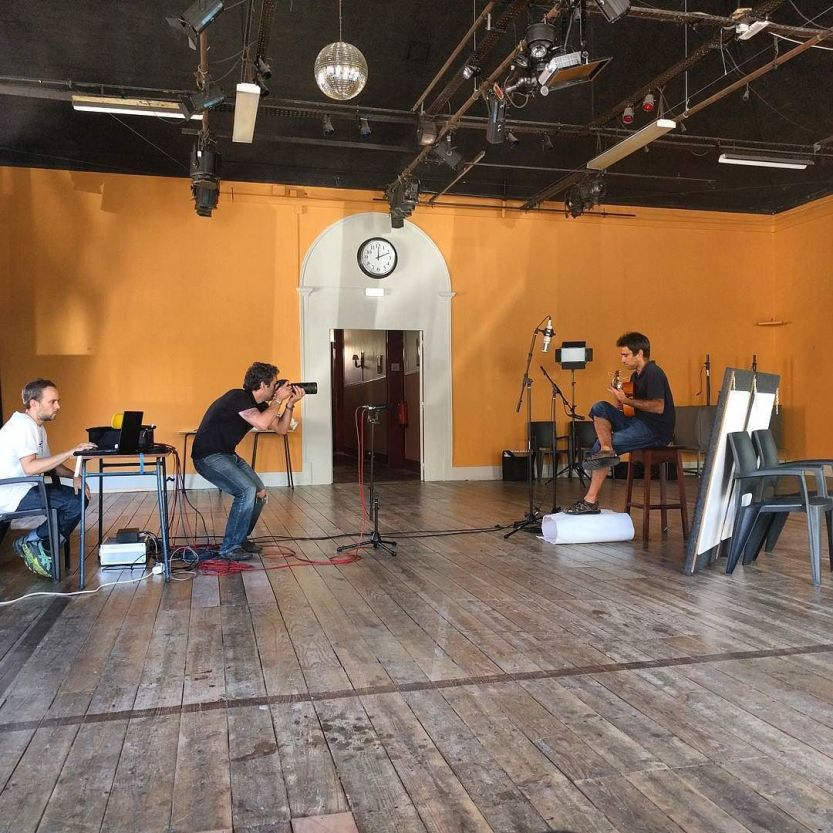 Recording session at the Casino // Guta is back // #thecompanysound / http://ift.tt/2a2F0lp