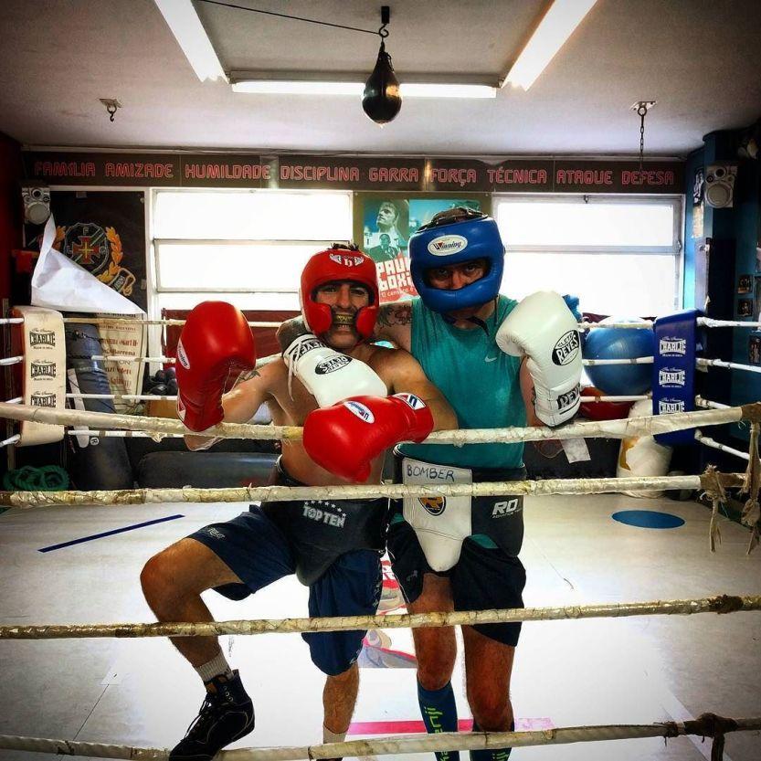 "Pedro ""Number One"" Matos & Rui ""Bomber"" Carvalho / #boxinglisboa / http://ift.tt/2bYwsgU"