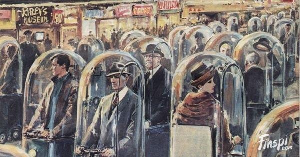 "danismm: ""Walter Molino 1962: Mid-century Futurism """