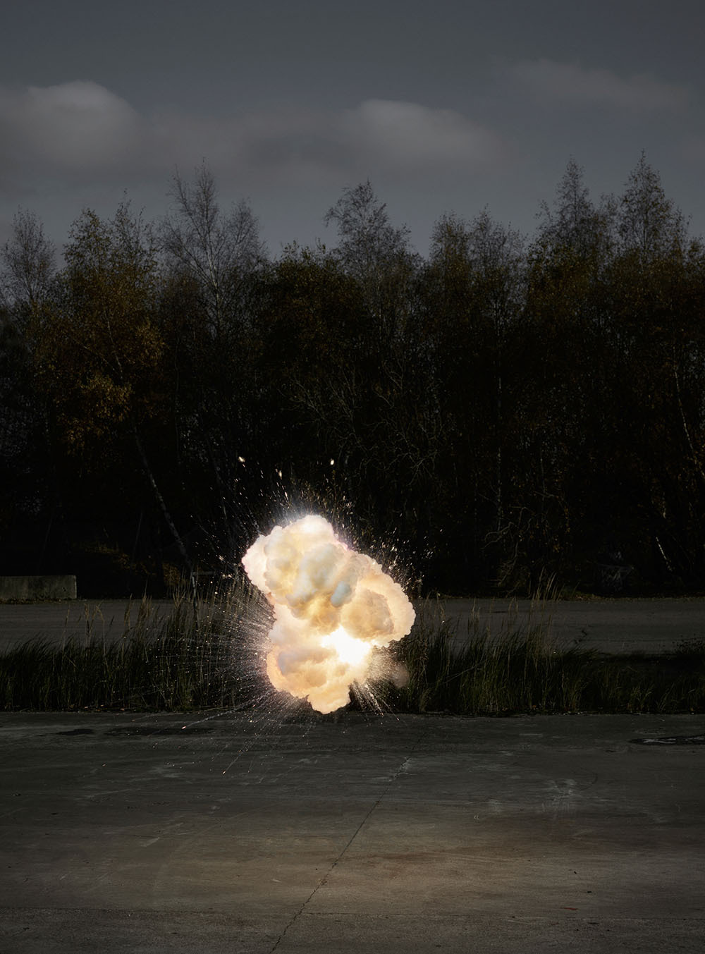 """migurski: """"(via Cloud-Like Explosions Photographed in Midair by Ken Hermann 