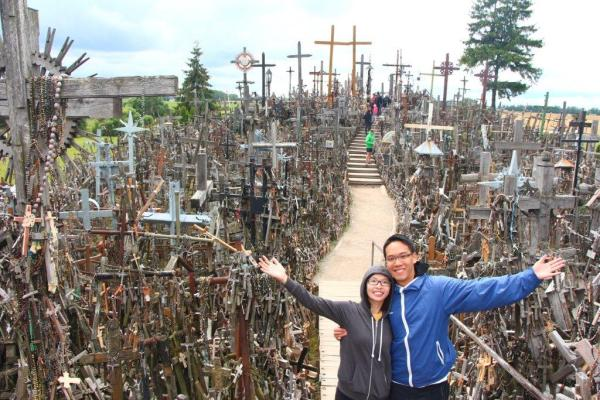 Day 8 Hill of Crosses