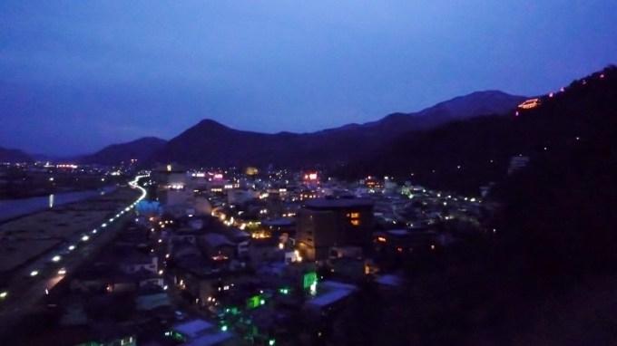戸倉上山田温泉夜景