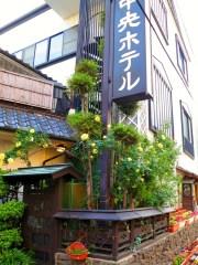 千曲市戸倉上山田温泉中央ホテルバラ