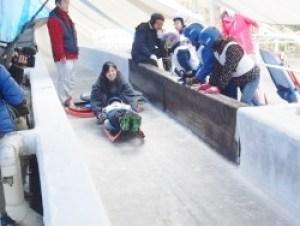 長野県ボブスレー・リュージュ・スケルトンそり滑り体験