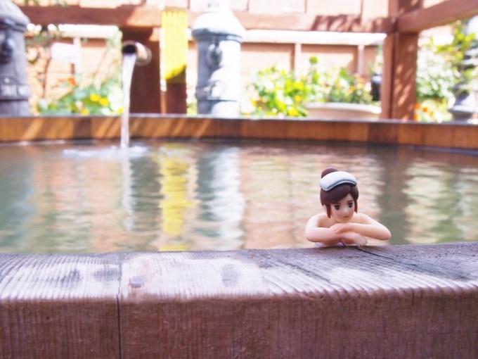 長野県千曲市戸倉上山田温泉中央ホテル貸切露天風呂