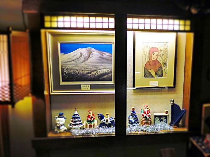 中央ホテルクリスマス冬飾り竹久夢二清水規