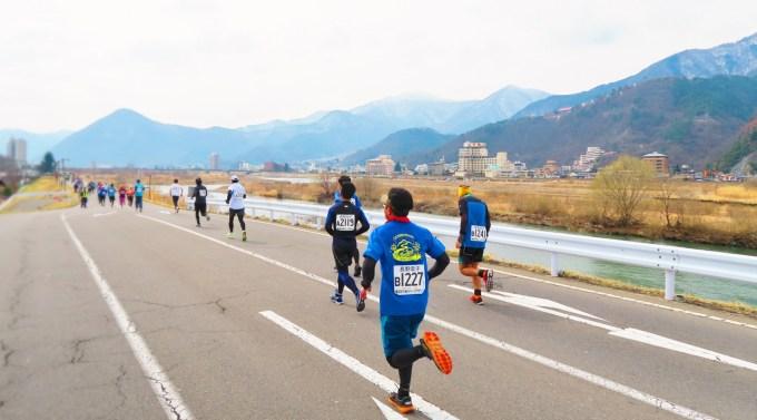 長野県千曲市第2回千曲川ハーフマラソン