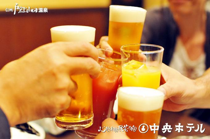 グループ会プラン・歓送迎会ご宴会プラン【宴会120分飲み放題付】