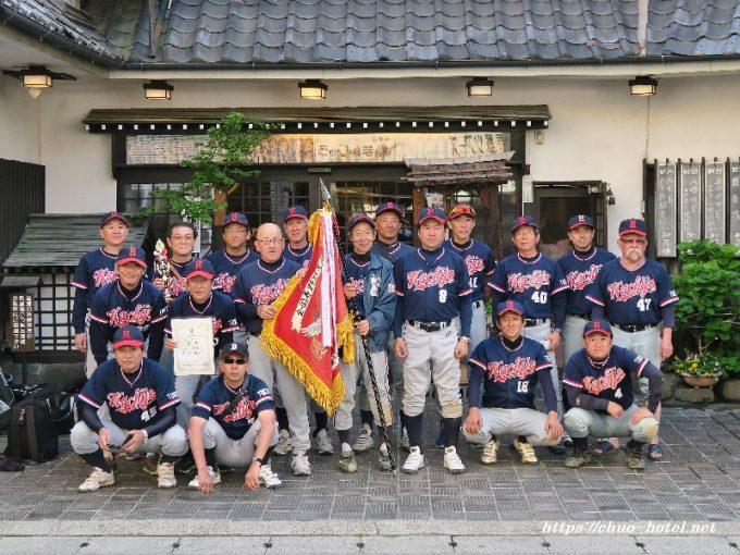 寿野球全国大会八丈島OB野球愛好会