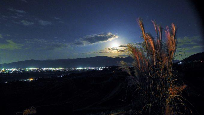 月の都千曲中秋の名月満月姨捨