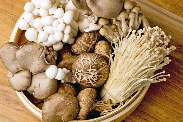 Các loại nấm chứa ít calo