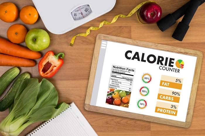 xác định lượng calo nạp ào mỗi ngày là cách nhanh chóng nhất để giảm cân hiệu quả