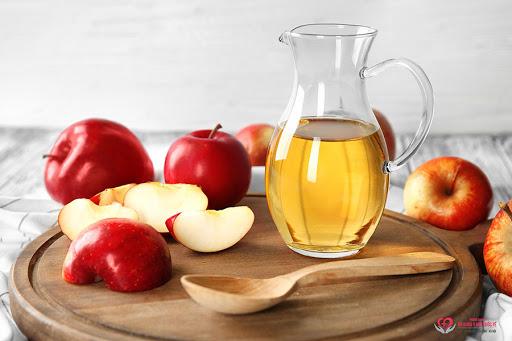 Giảm cân với giấm táo