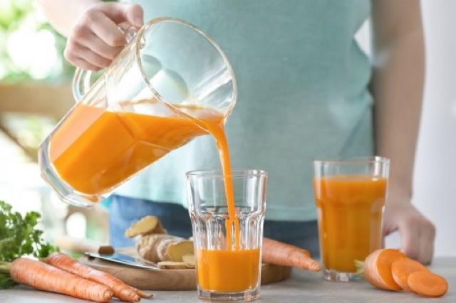 Detox giảm cân với cà rốt